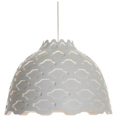 Louis Poulsen LC Shutters Pendant in White by Louise Campbell