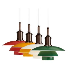 Louis Poulsen, Medium Metal Pendant Light by Poul Henningsen