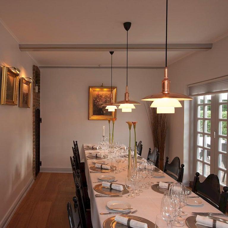 Danish Louis Poulsen, Medium Pendant Light by Poul Henningsen For Sale