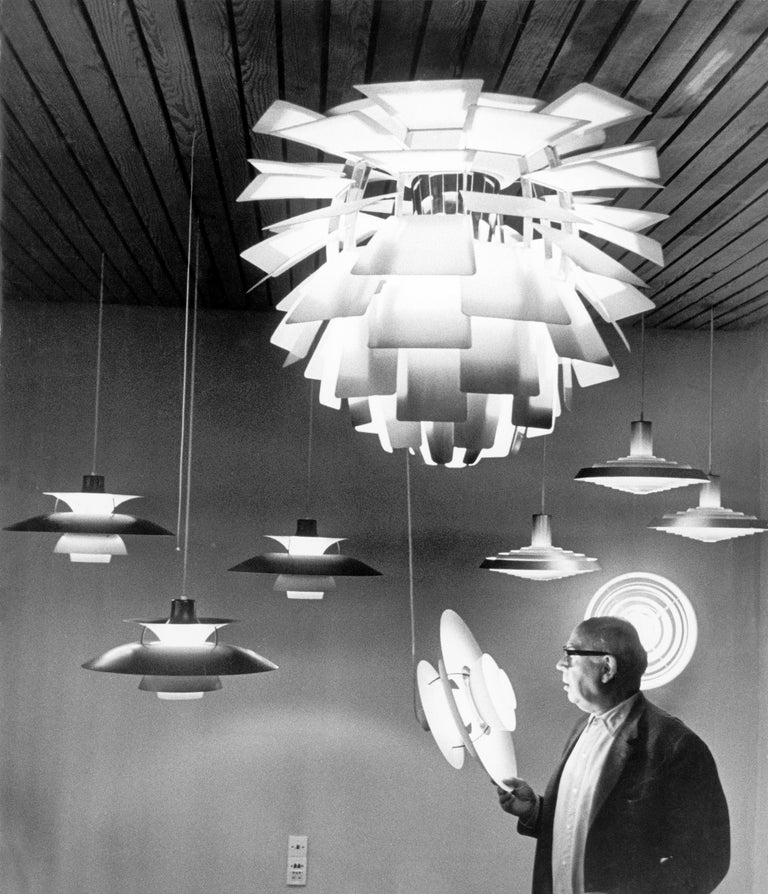 Louis Poulsen Medium PH Artichoke Pendant Light by Poul Henningsen For Sale 13