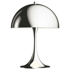 Louis Poulsen, MINI Steel Table Lamp by Verner Panton