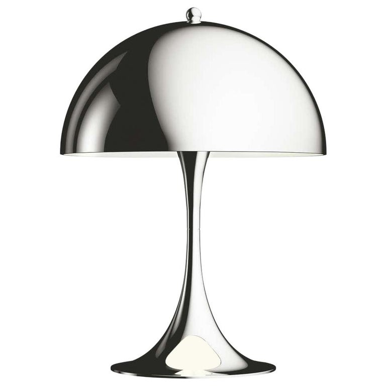 Louis Poulsen, MINI Steel Table Lamp by Verner Panton For Sale