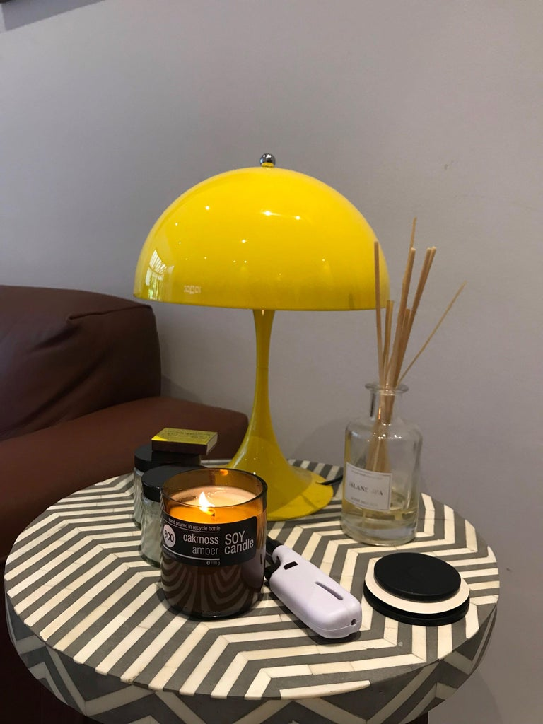 Louis Poulsen, MINI Table Color Lamp by Verner Panton For Sale 8