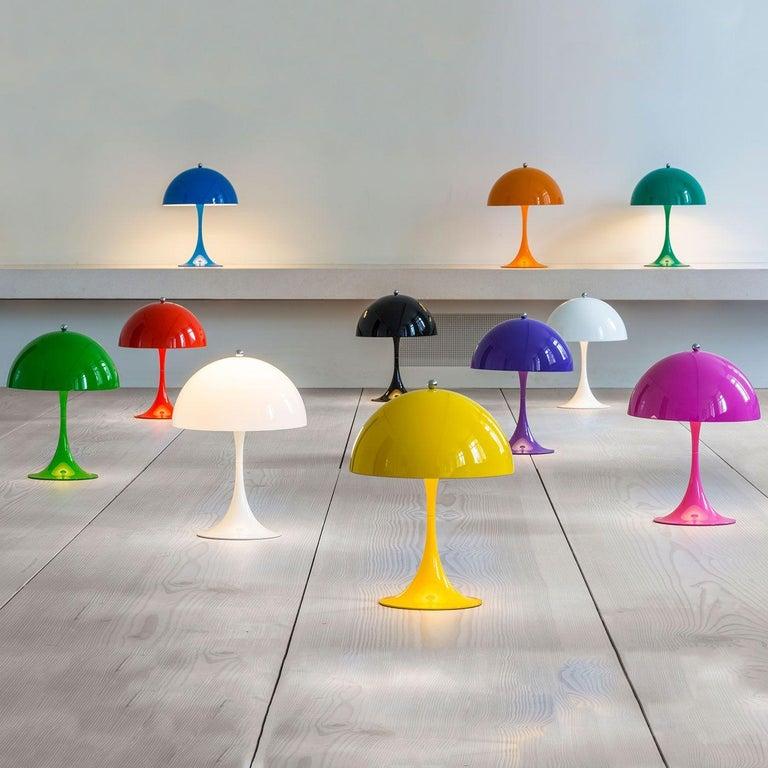 Louis Poulsen, MINI Table Color Lamp by Verner Panton For Sale 12