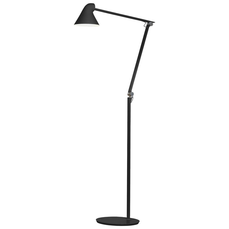 For Sale: Black (black.jpg) Louis Poulsen NJP Floor Lamp by Nendo, Oki Sato