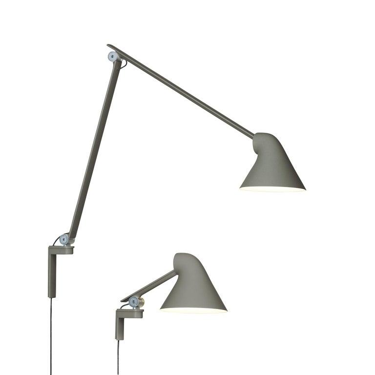 Louis Poulsen NJP Wall Short Lamp by Nendo, Oki Sato In New Condition For Sale In Weston, FL