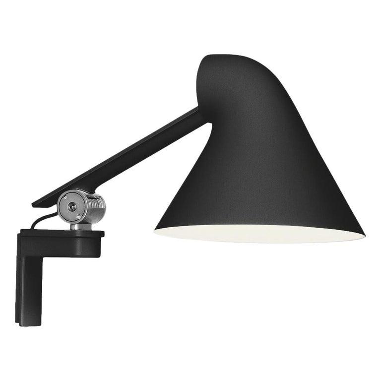 For Sale: Black (black.jpg) Louis Poulsen NJP Wall Short Lamp by Nendo, Oki Sato