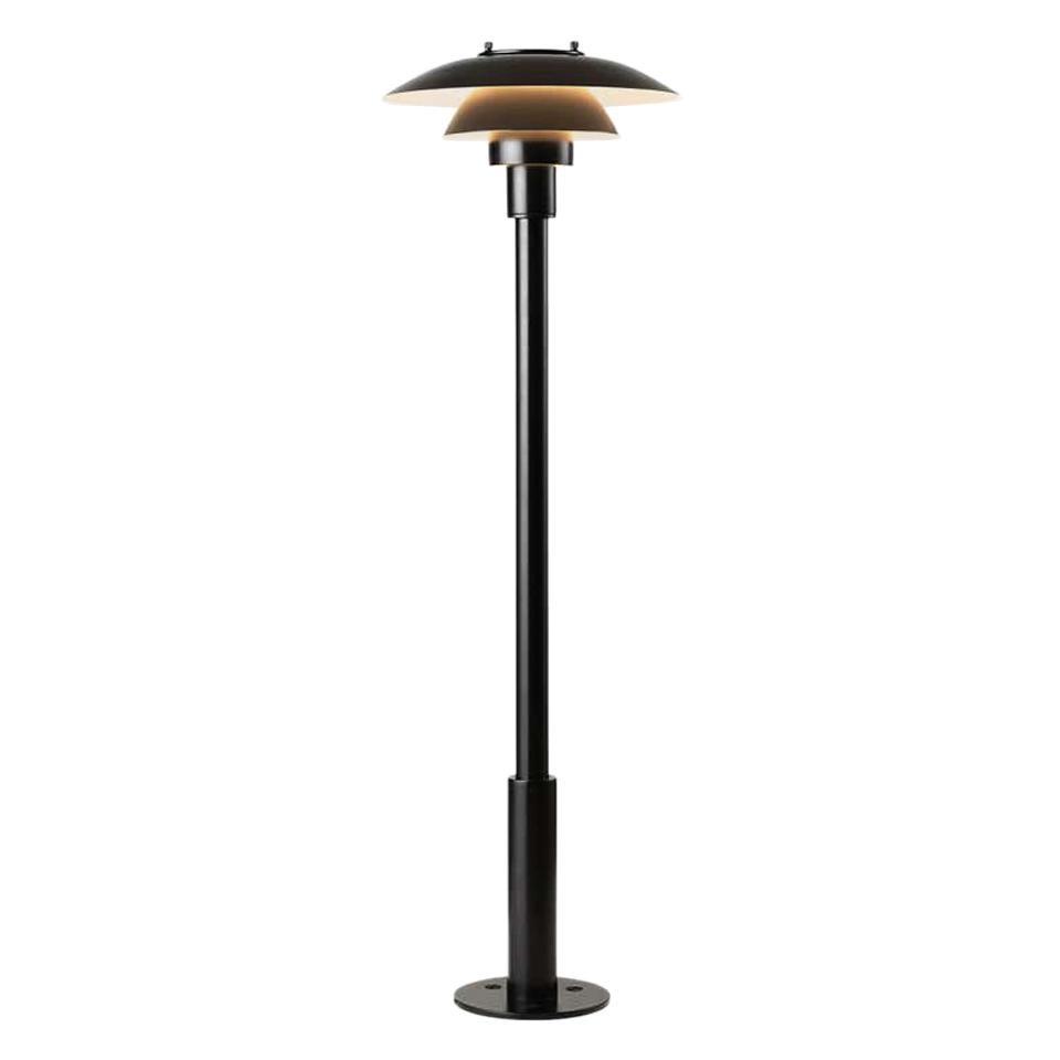 Louis Poulsen, Outdoor Lamp in Black by Poul Henningsen