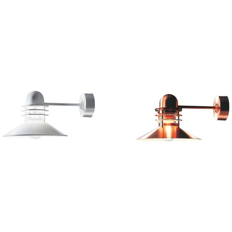 Louis Poulsen, Outdoor Wall Lamp by Alfred Homann & Ole V. Kjær For Sale
