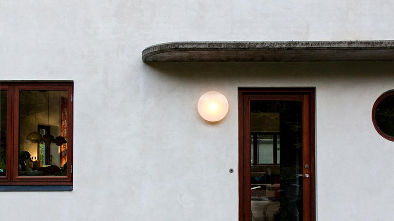 Contemporary Louis Poulsen, Outdoor Wall Lamp by Arne Jacobsen For Sale
