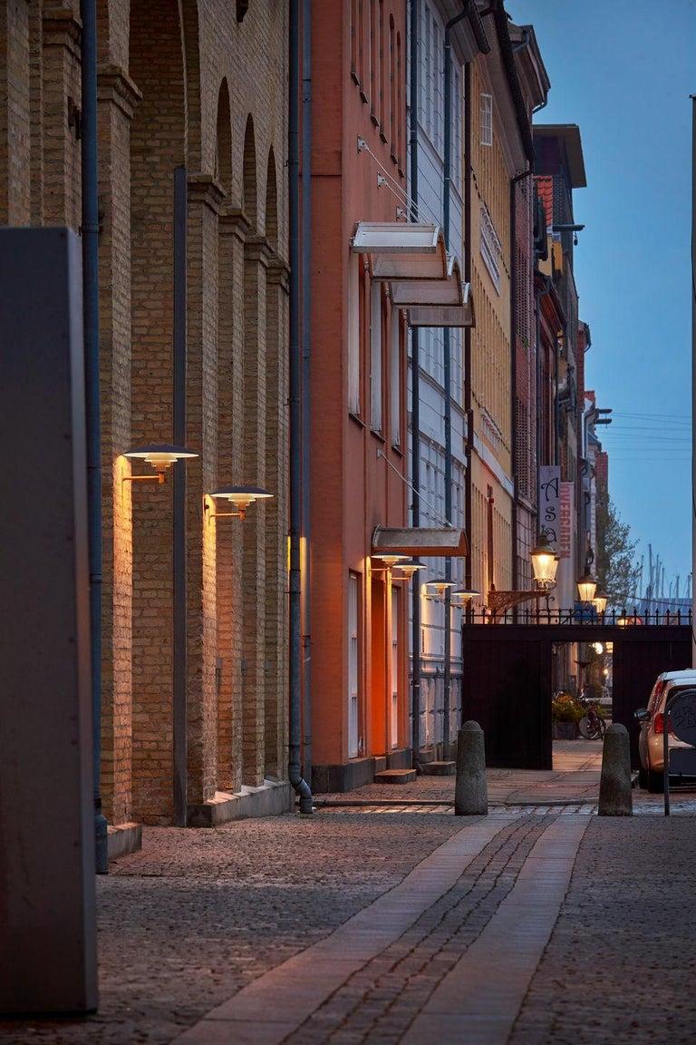 Danish Louis Poulsen, Outdoor Wall Lamp in Cooper by Poul Henningsen For Sale