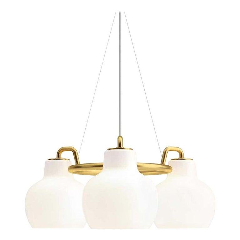 Louis Poulsen, Pendant 3 Light by Vilhelm Lauritzen For Sale