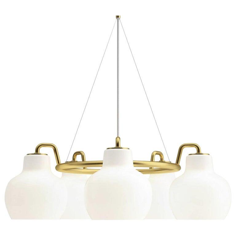 Louis Poulsen, Pendant 5-Light by Vilhelm Lauritzen For Sale