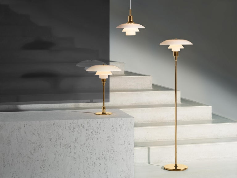 Louis Poulsen PH 3½-2½ Floor Lamp by Poul Henningsen In New Condition For Sale In Weston, FL