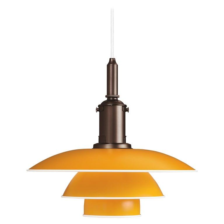 For Sale: Yellow (yellow.jpg) Louis Poulsen PH 3½-3 Color Pendant by Poul Henningsen