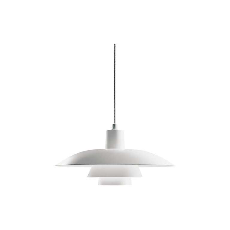 Louis Poulsen PH 4/3 Pendant in Matte White by Poul Henningsen For Sale