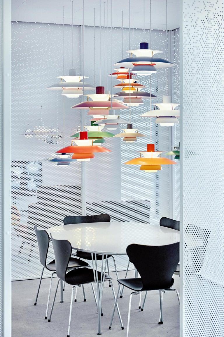 Louis Poulsen PH5 Mini Pendant Lamp by Poul Henningsen For Sale 4