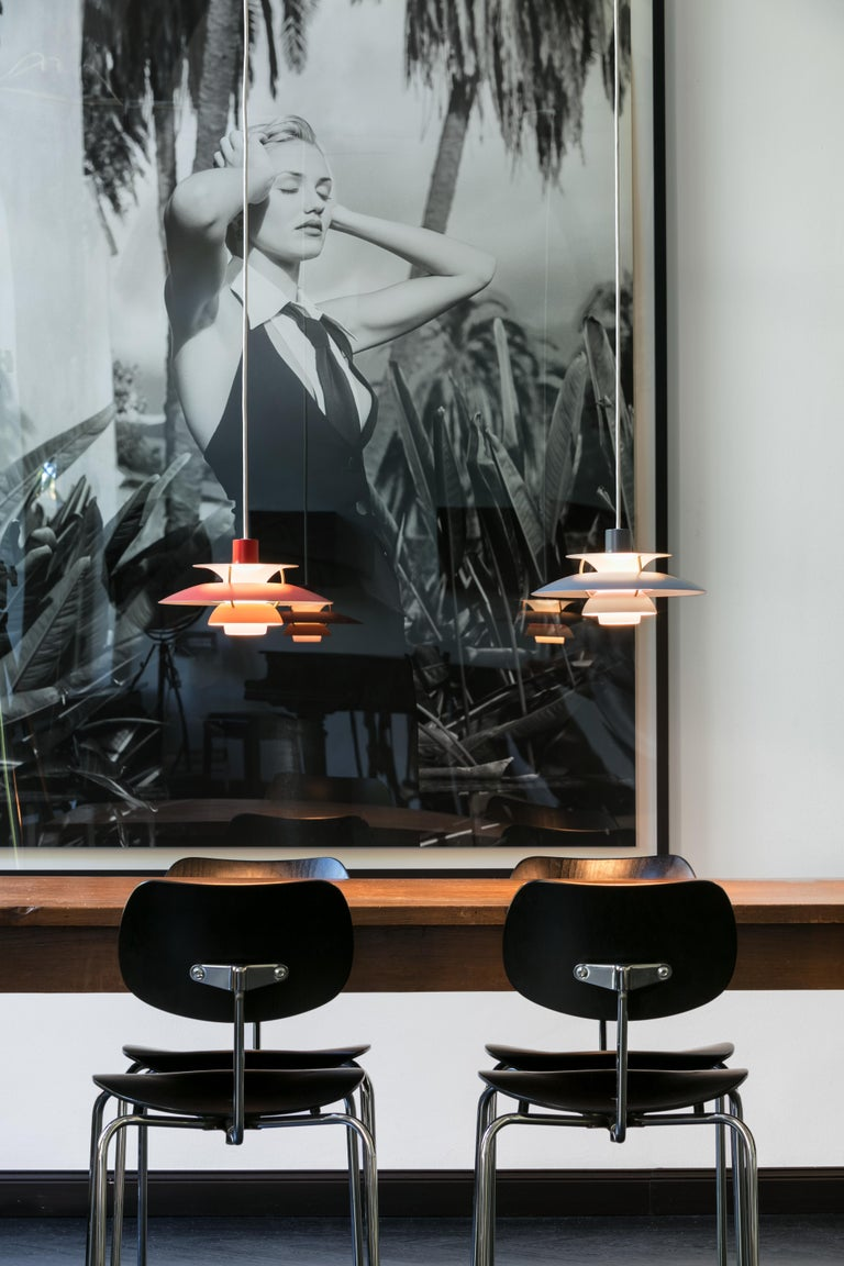 Louis Poulsen PH5 Mini Pendant Lamp by Poul Henningsen For Sale 6
