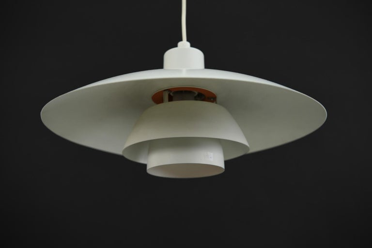 20th Century Louis Poulsen, Poul Henningsen PH4/3 Pendant Light For Sale