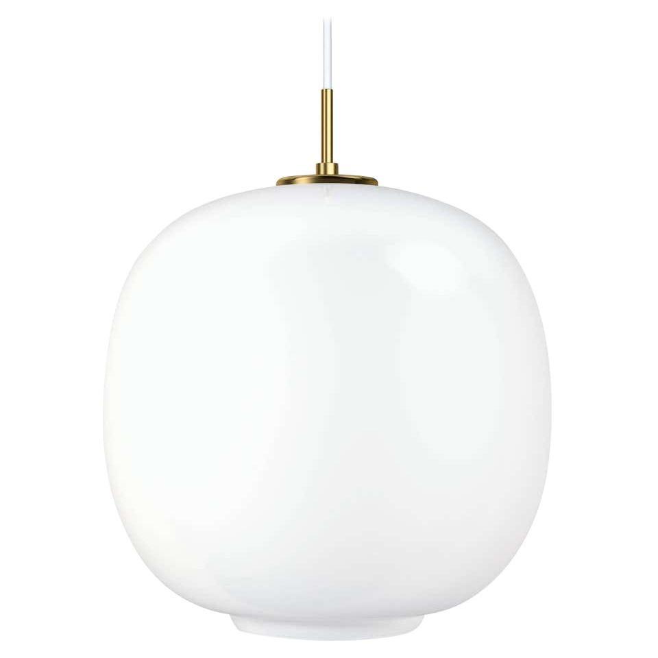 Louis Poulsen, Round Glass Pendant 370 Light by Vilhelm Lauritzen