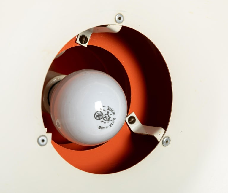 Mid-Century Modern Louis Poulsen Style Pendant Light For Sale