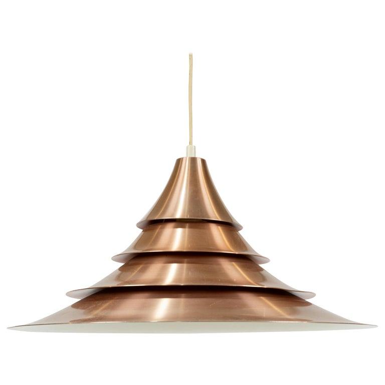 Louis Poulsen Style Pendant Light For Sale