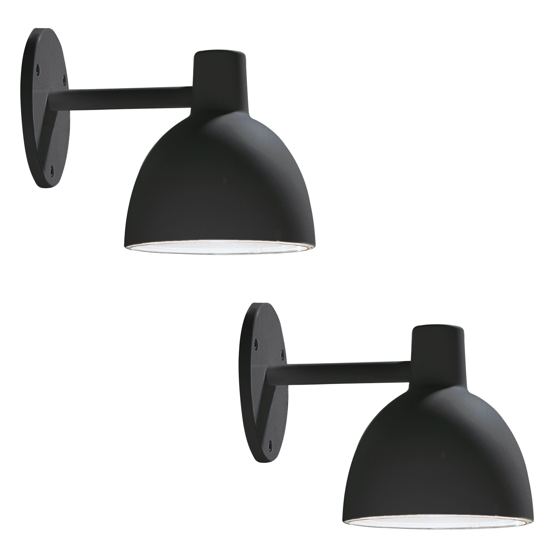 Louis Poulsen 'Toldbod' Outdoor Wall Light in Black