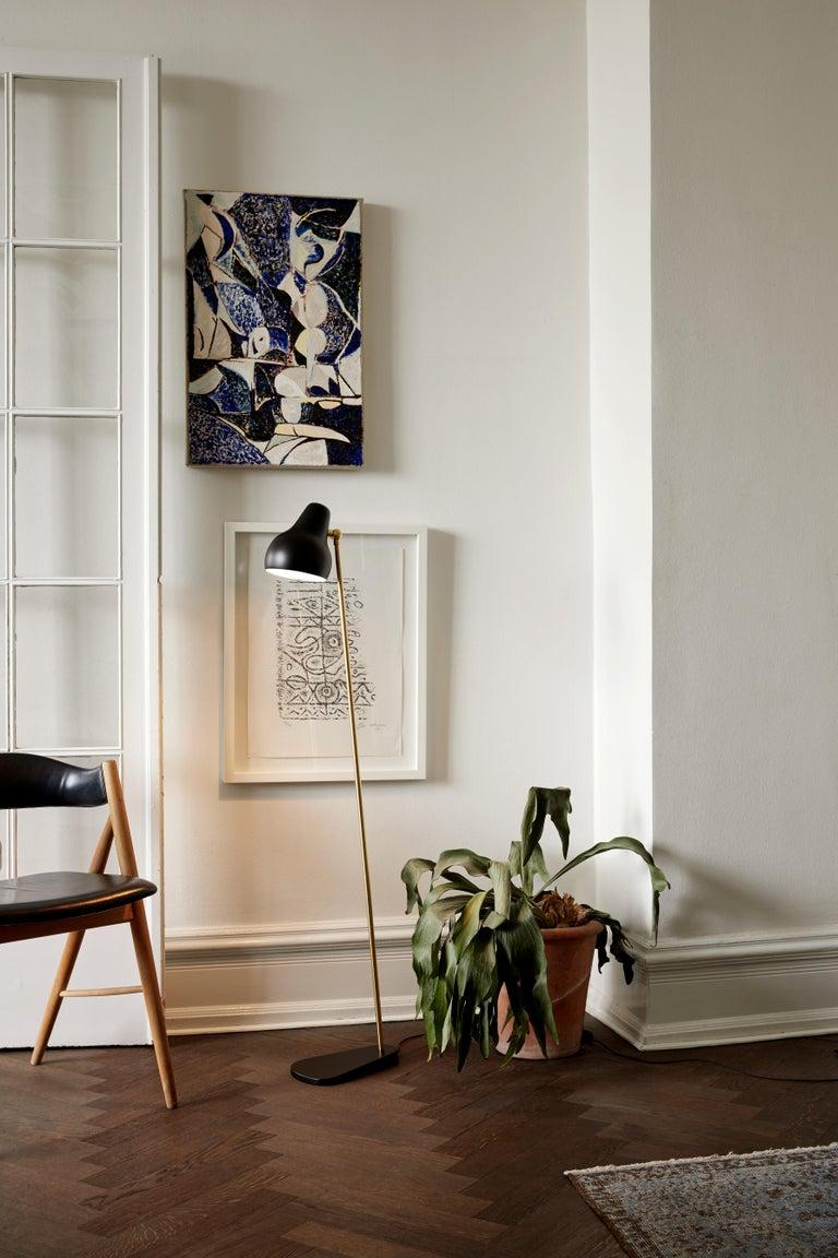 Contemporary Louis Poulsen VL 38 Floor Lamp by Vilhelm Lauritzen For Sale