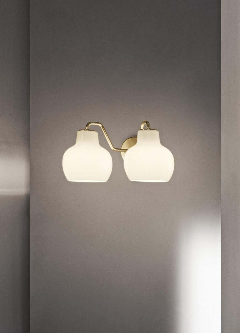 Modern Louis Poulsen, Wall Lamp Crown 2 by Vilhelm Lauritzen For Sale
