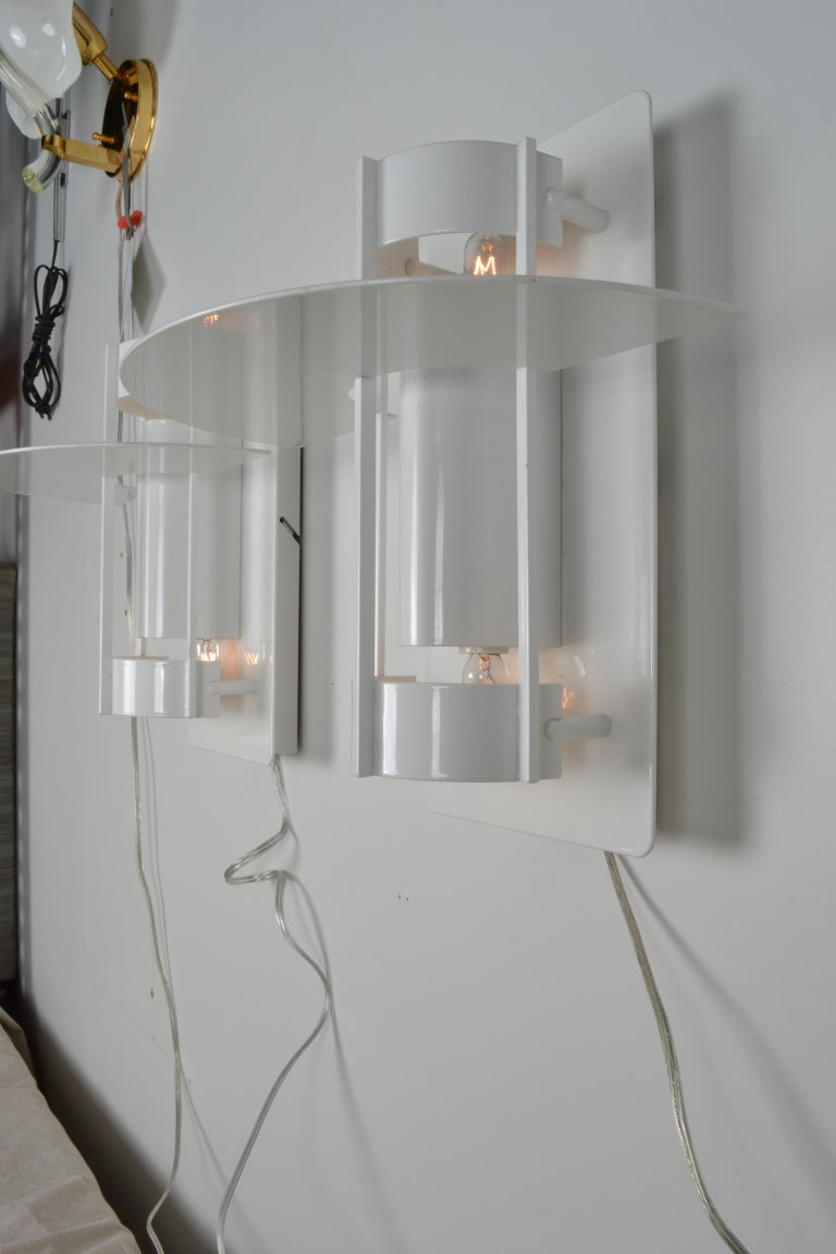 Louis Poulsen Wall Sconces In Good Condition For Sale In Stamford, CT