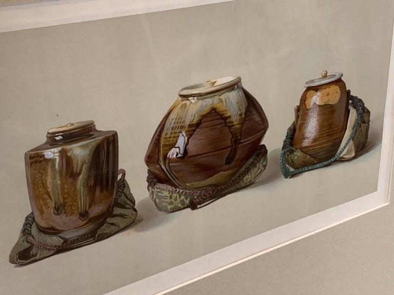 Set of Two Framed Color Lithographs,  Oriental Ceramic Art , 1897 For Sale 7