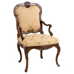 Louis Quinze Armchair, Mid-18th Century