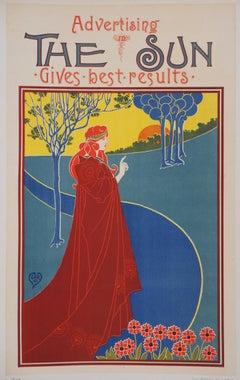 The Sun - Original Lithograph (Les Maîtres de l'Affiche), 1895