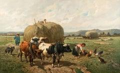 """Hay Season"" by Louis Robbe"