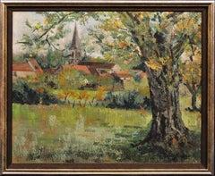 Licey Sur Vingeanne, Cote D'Or, France. Original Oil Painting. Australian Artist