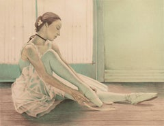 'Ballerina', New York Impressionist artist, National Academy of Design