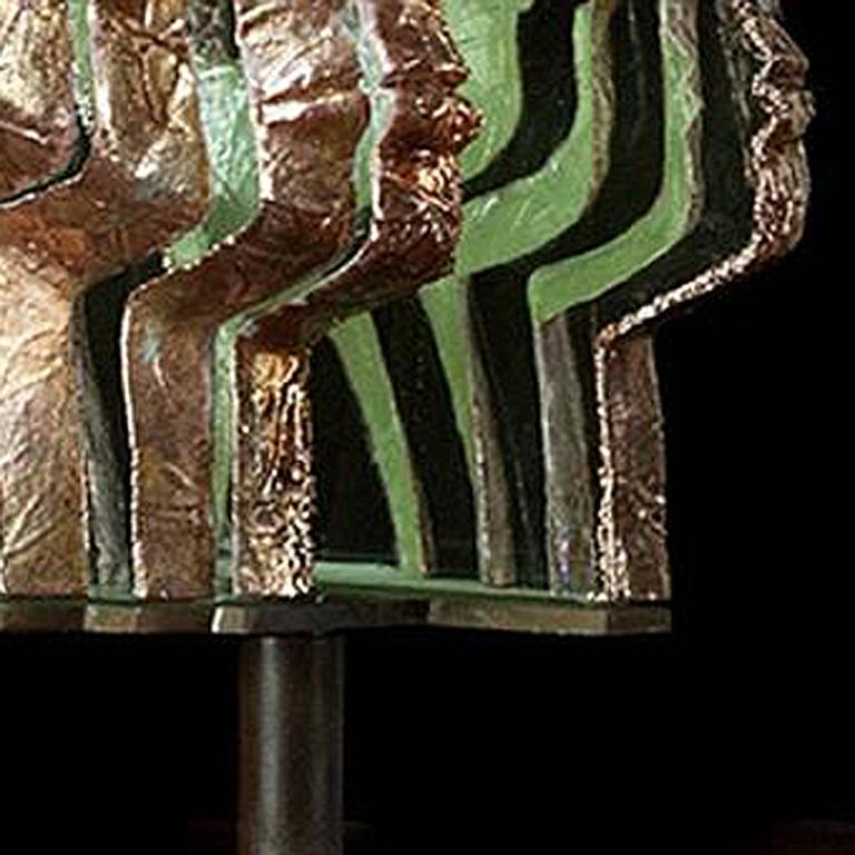 Loredano - Black Figurative Sculpture by Louis Sclafani