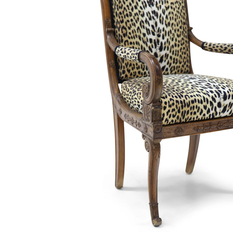 French Empire Armchair, France, circa 1800 For Sale
