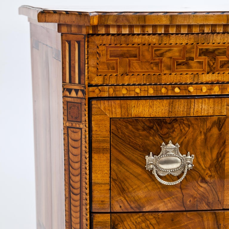 Late 18th Century Louis-Seize Chest of Drawers, Dresden, circa 1790 For Sale