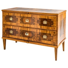 Louis Seize Chest of Drawers, Late 18th Century