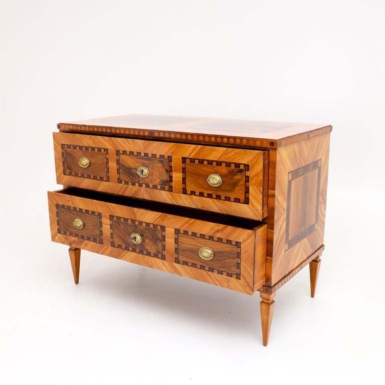 Louis Seize Chest of Drawers, South German, circa 1790 4