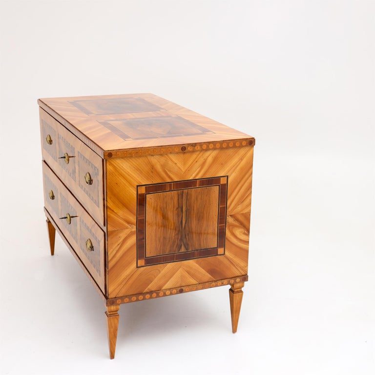 Louis Seize Chest of Drawers, South German, circa 1790 6