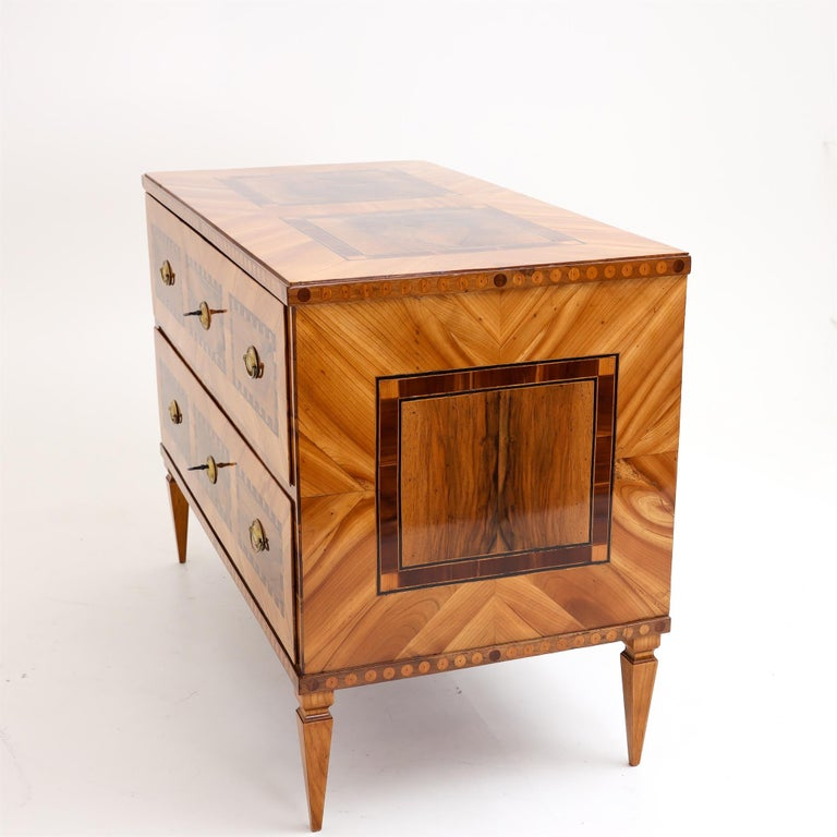 Louis Seize Chest of Drawers, South German, circa 1790 9