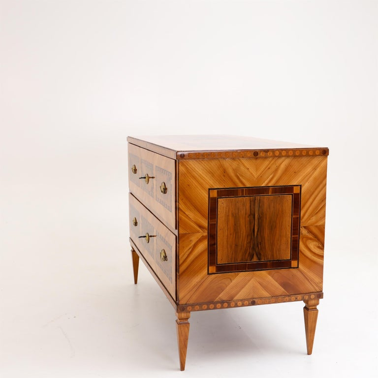 Louis Seize Chest of Drawers, South German, circa 1790 10