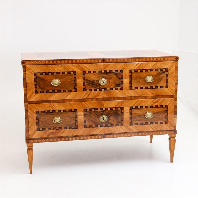 18th Century Louis Seize Chest of Drawers, South German, circa 1790
