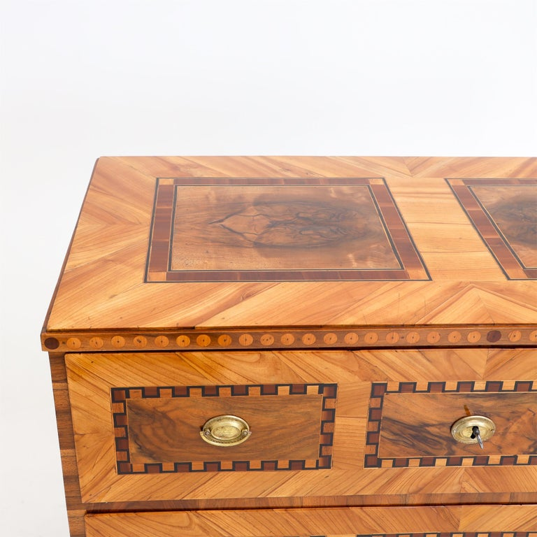 Louis Seize Chest of Drawers, South German, circa 1790 2