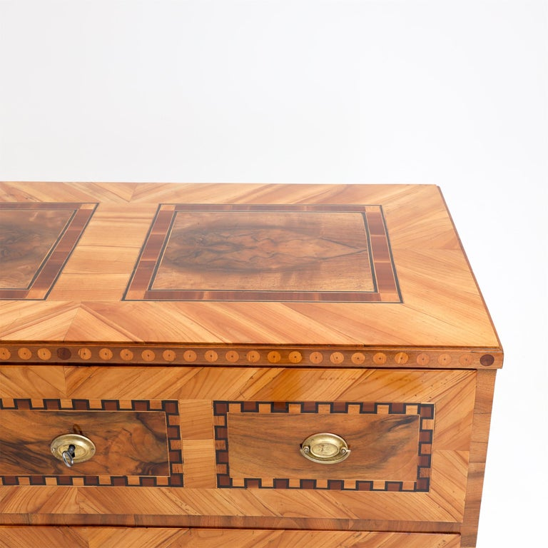 Louis Seize Chest of Drawers, South German, circa 1790 3