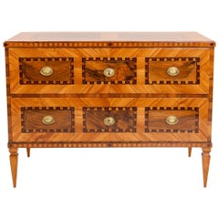 Louis Seize Chest of Drawers, South German, circa 1790