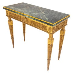 Classicist Console, Tuscany, Late 18th Century