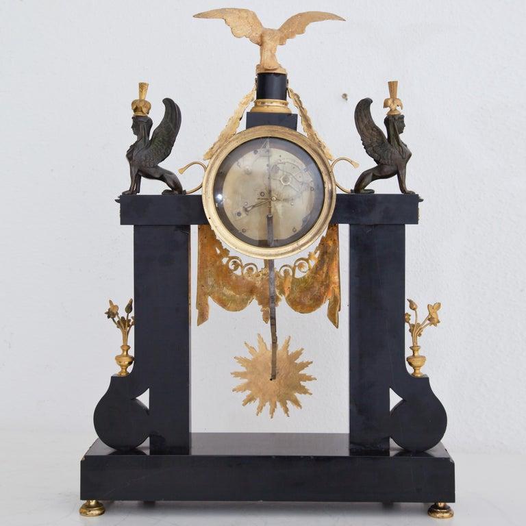 Louis Seize Portal Pendule, France, Late 18th Century 9
